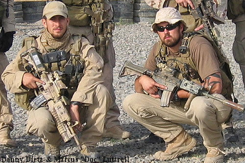 Navy seals hero s danny dietz amp marcus lattrell the patriot