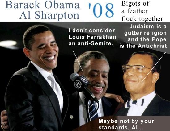 obama and farrakhn